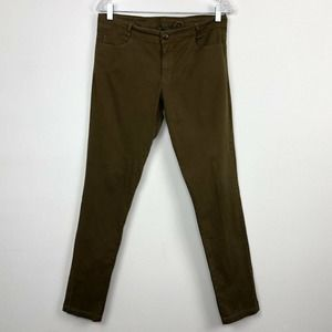 XCVI Small Skinny Jeans Stretchy in Kombu Pigment